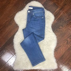 Levi's Mid Rise Cropped Skinny Jeans Sz 4